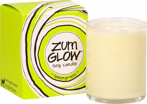 Zum  Glow® Votive Aromatherapy Soy Candle Lemongrass Perspective: front