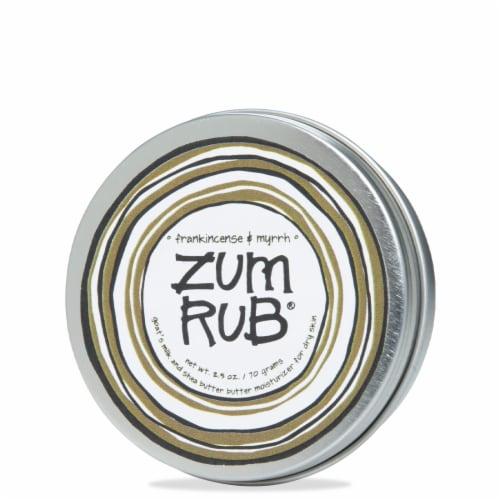 Zum Rub Frankincense & Myrrh Moisturizer Perspective: front
