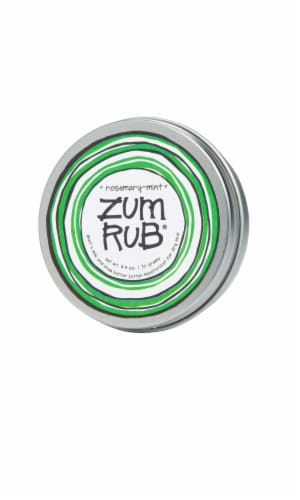 Zum Rub Rosemary Mint Goat's Milk & Shea Butter Moisturizer Perspective: front