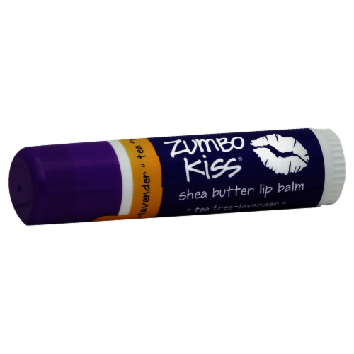 Zum Zumbo Kiss Tea Tree Lavender Shea Butter Lip Balm Perspective: front