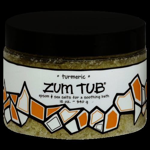Zum Tub Turmeric Bath Salts Perspective: front