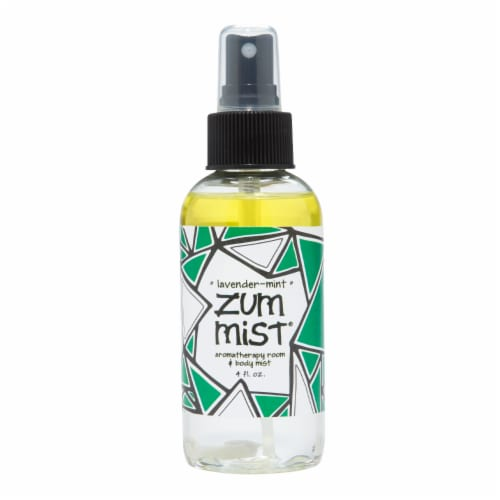 Zum Lavender Mint Aromatherapy Room & Body Mist Perspective: front