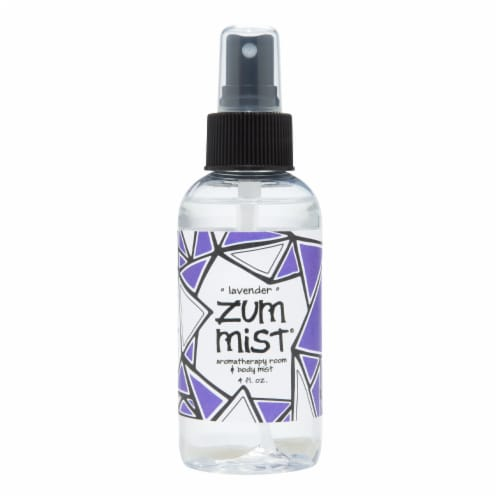Zum Mist Lavender Aromatherapy Room & Body Mist Perspective: front