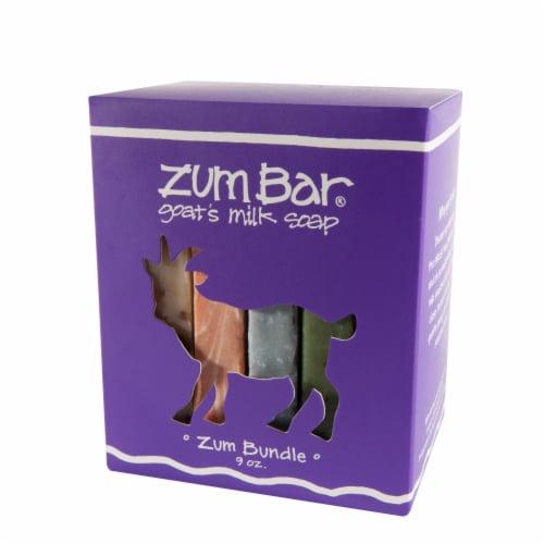 Zum Bar Goat Milk Soap Bundle Perspective: front