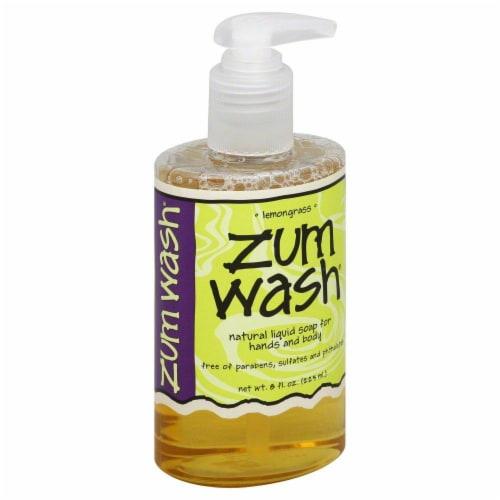 Zum Wash Lemongrass Liquid Soap Perspective: front