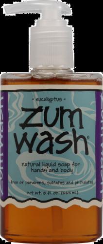 Zum Wash Liquid Soap Eucalyptus Perspective: front