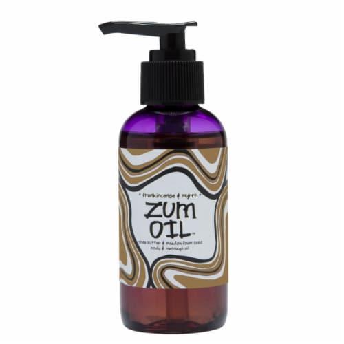Zum Oil™ Frankincense & Myrrh Body & Massage Oil Perspective: front