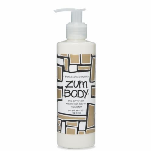Zum Body Frankincense & Myrrh Lotion Perspective: front