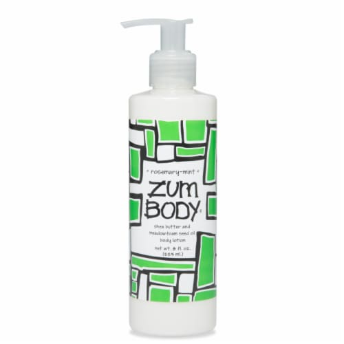 Zum Body Rosemary-Mint Lotion Perspective: front