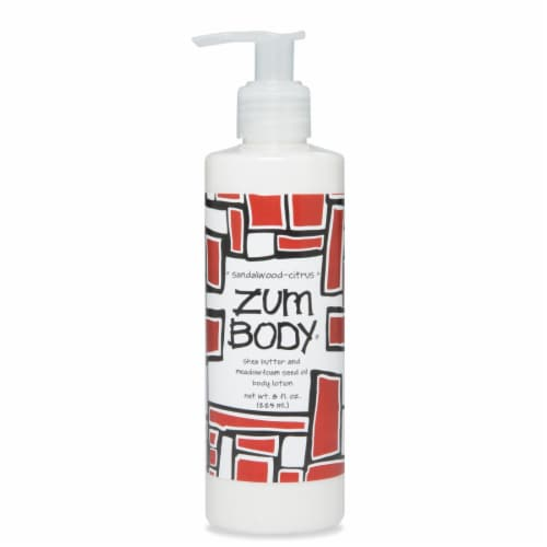Zum Body Sandalwood-Citrus Lotion Perspective: front