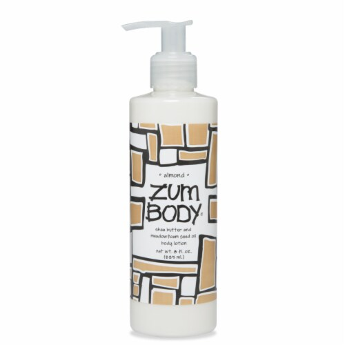 Zum Body Almond Lotion Perspective: front