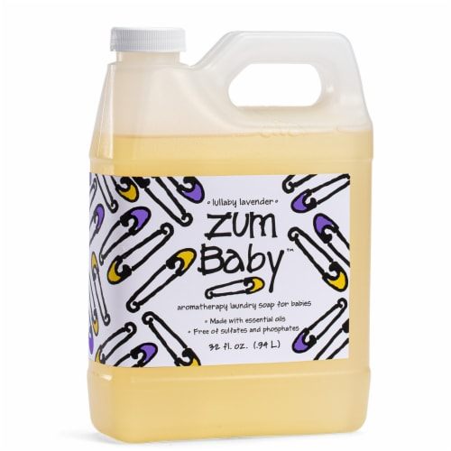Zum Baby Lullaby Lavender Aromatherapy Laundry Soap Perspective: front