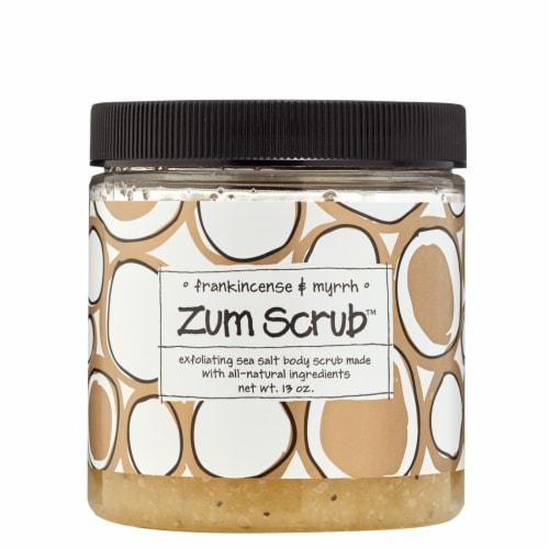 Zum  Body Scrub™ Frankincense & Myrrh Perspective: front
