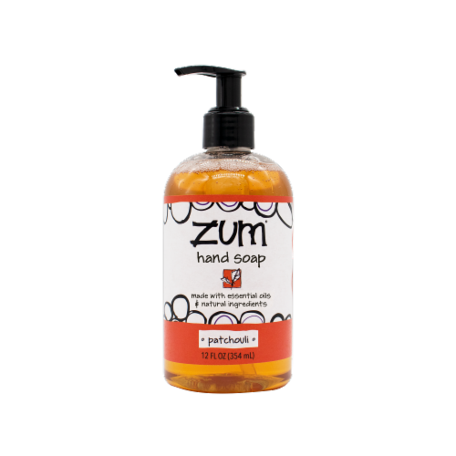 Zum® Patchouli Hand Soap Perspective: front