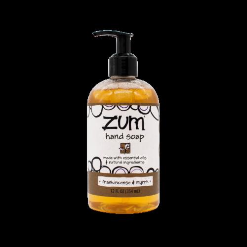 Zum® Frankincense & Myrrh Hand Soap Perspective: front
