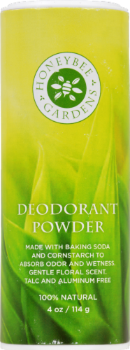 Honeybee Gardens Deodorant Powder Perspective: front