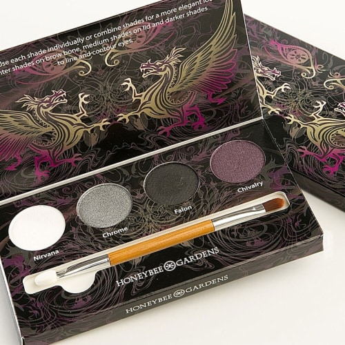 Honeybee Gardens  Eye Shadow Palette Rock the Smokey Eye Perspective: front