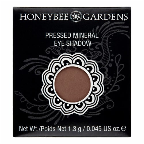 Honeybee Gardens Coco Loco Pressed Mineral Eye Shadow Perspective: front
