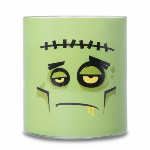 Carolina Monsters Frankenstein Candle - Green Perspective: front