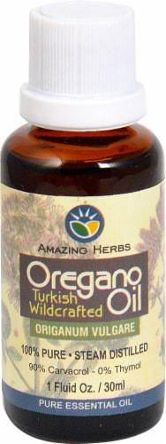 Amazing Herbs  Oregano Oil Perspective: front