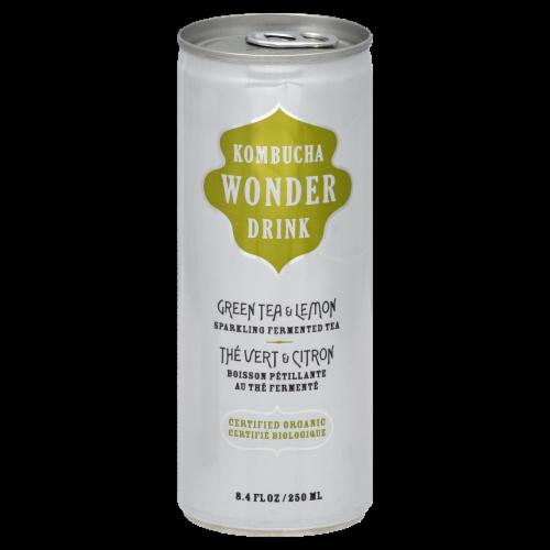Kombucha Wonder Drink Green Tea & Lemon Tea Perspective: front