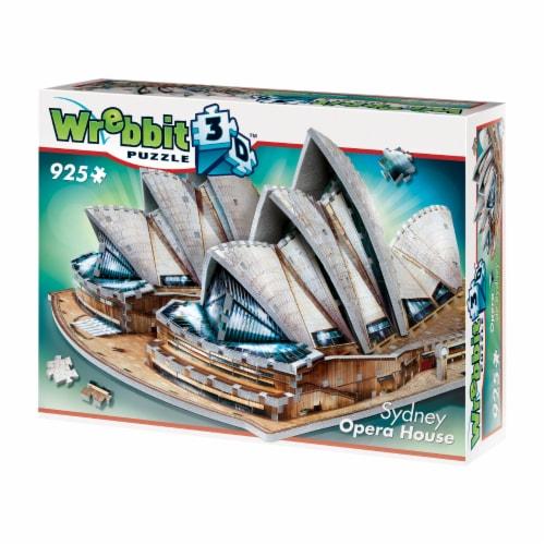 Wrebbit Sydney Opera House 3D Puzzle Perspective: front