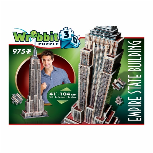 Wrebbit Empire State Building 3D Puzzle Perspective: front