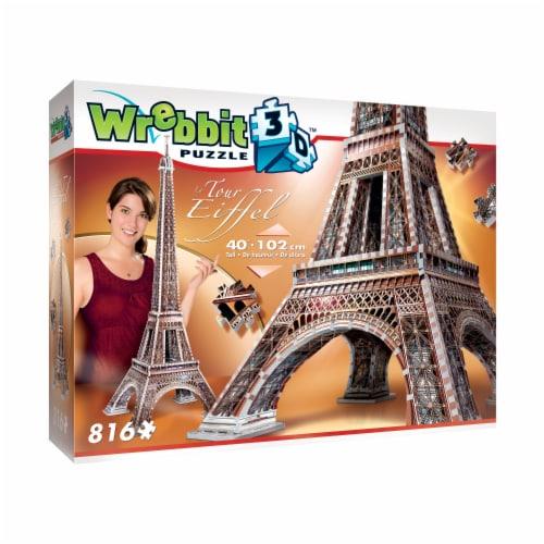 Wrebbit Eiffel Tower 3D Puzzle Perspective: front