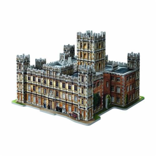 Wrebbit Downton Abbey 3D Puzzle Perspective: front