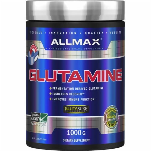 ALLMAX Nutrition  Glutamine Powder Perspective: front