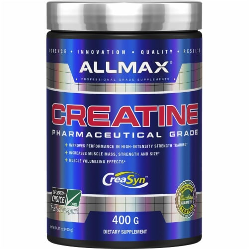 ALLMAX Nutrition  100% Pure Micronized Creatine Perspective: front