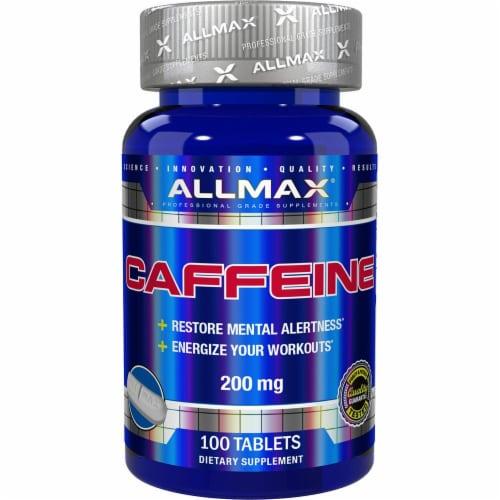 ALLMAX Nutrition  Caffeine Perspective: front