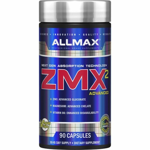 ALLMAX Nutrition  ZMA™ Perspective: front
