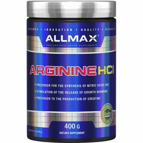 ALLMAX Nutrition  Arginine Perspective: front