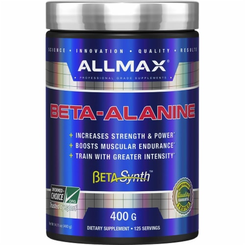 ALLMAX Nutrition  Beta Alanine Perspective: front