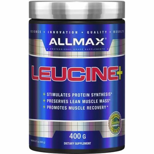ALLMAX Nutrition  Leucine Powder Perspective: front