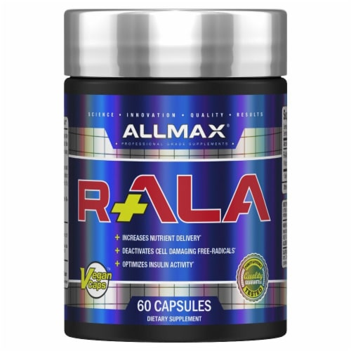 ALLMAX Nutrition  R+ ALA™ Perspective: front