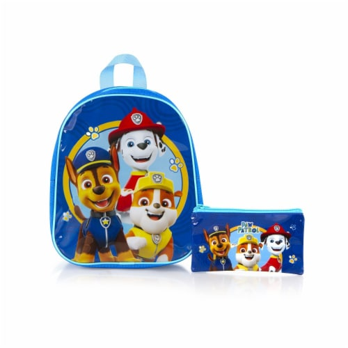 Paw Patrol 2-Piece Junior School Bag Backpack Set with Pencil Case Perspective: front