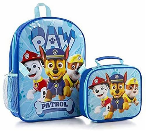 Heys Paw Patrol Deluxe Backpack and Lunch Bag Set Perspective: front