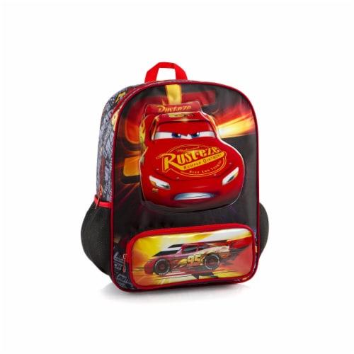 Disney Pixar Cars Deluxe School Backpack Bag Perspective: front
