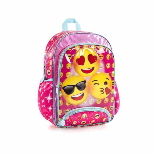 e-Motion Deluxe Pink Backpack Perspective: front