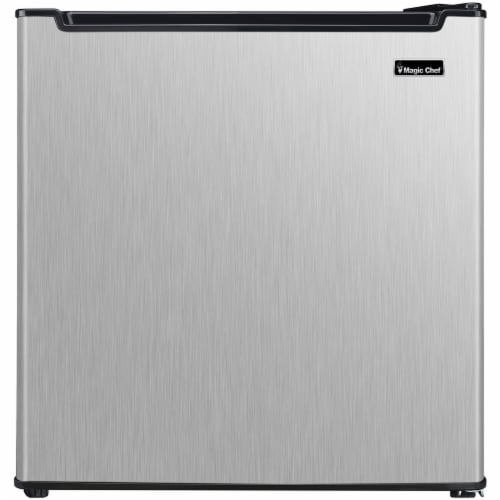 MAGIC CHEF Energy Star Mini All-Refrigerator - Stainless Steel Perspective: front