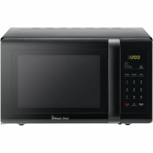 MAGIC CHEF 900-Watt Countertop Microwave Oven - Black Perspective: front