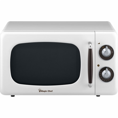 MAGIC CHEF Countertop Microwave Oven - White Perspective: front