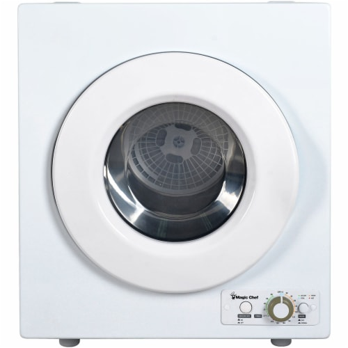 MAGIC CHEF Compact Electric Dryer - White Perspective: front