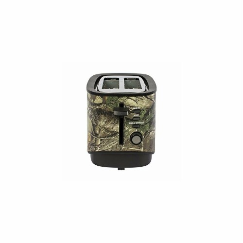 Magic MCL2STRT 2 Slice Toaster, Realtree Camo Perspective: front