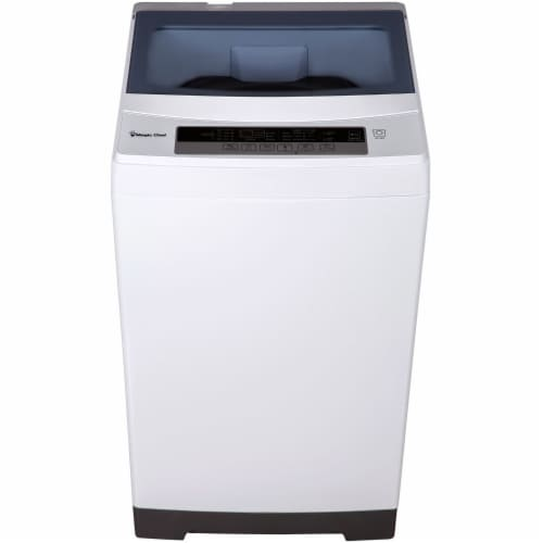 MAGIC CHEF Compact Top-Load Washer - White Perspective: front