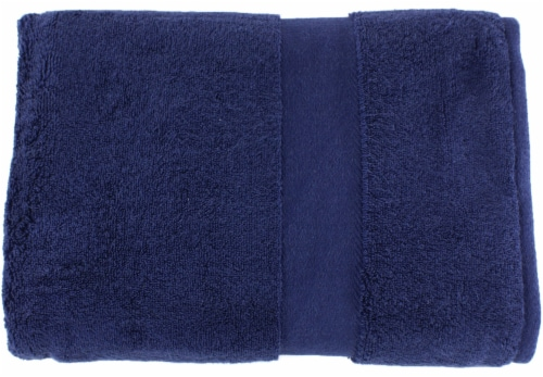 American Heritage Bath Towel - Medieval Blue Perspective: front