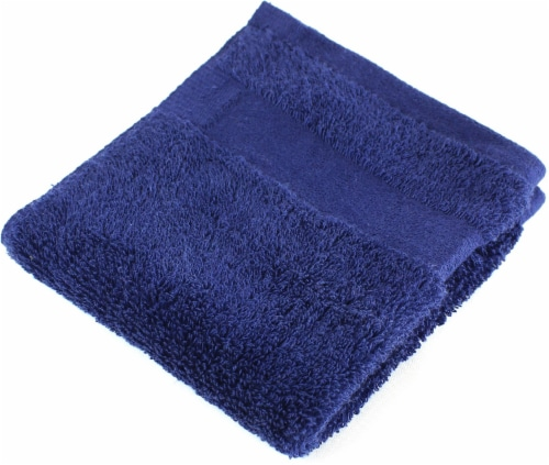 American Heritage Washcloth - Medieval Blue Perspective: front