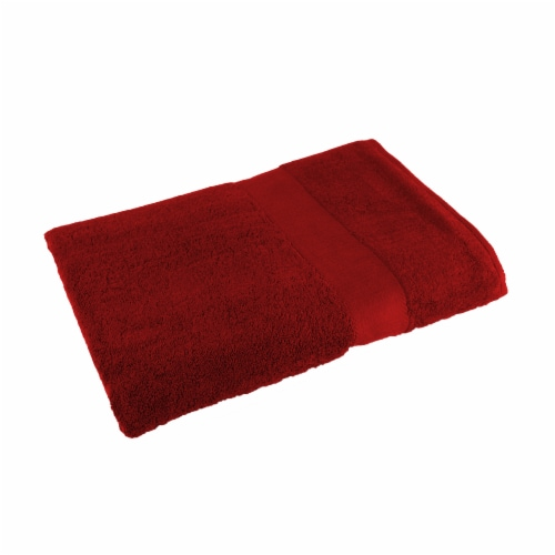 American Heritage Bath Towel - Red Perspective: front